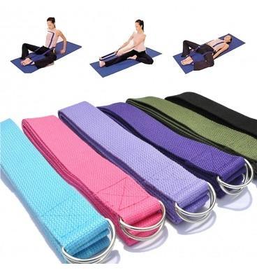Jiji Yoga Strap - Yoga Accessories / Yoga Stretching / Exercise / Woman Fitness (sg) By Jiji Sports.