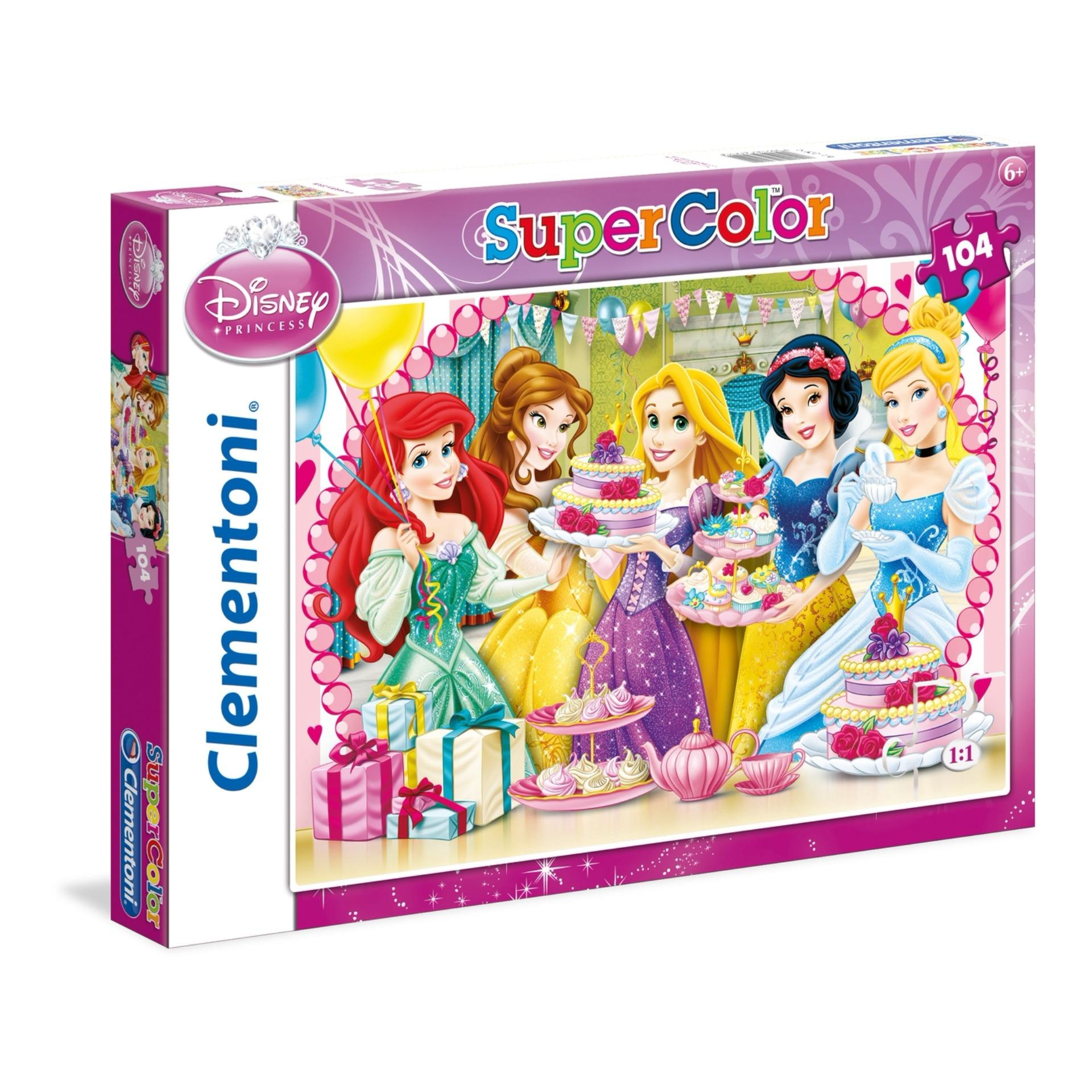 Cheapest Clementoni 104Pcs Disney Princess Royal Tea Party Jigsaw Puzzle Online