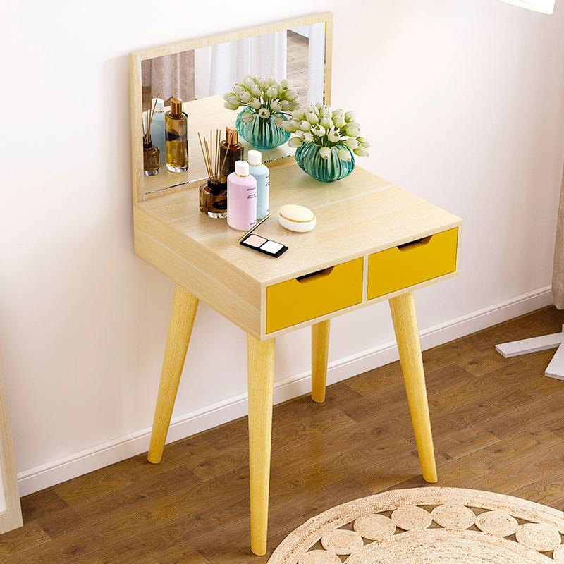 Natural Dressing Makeup Table - 60cm