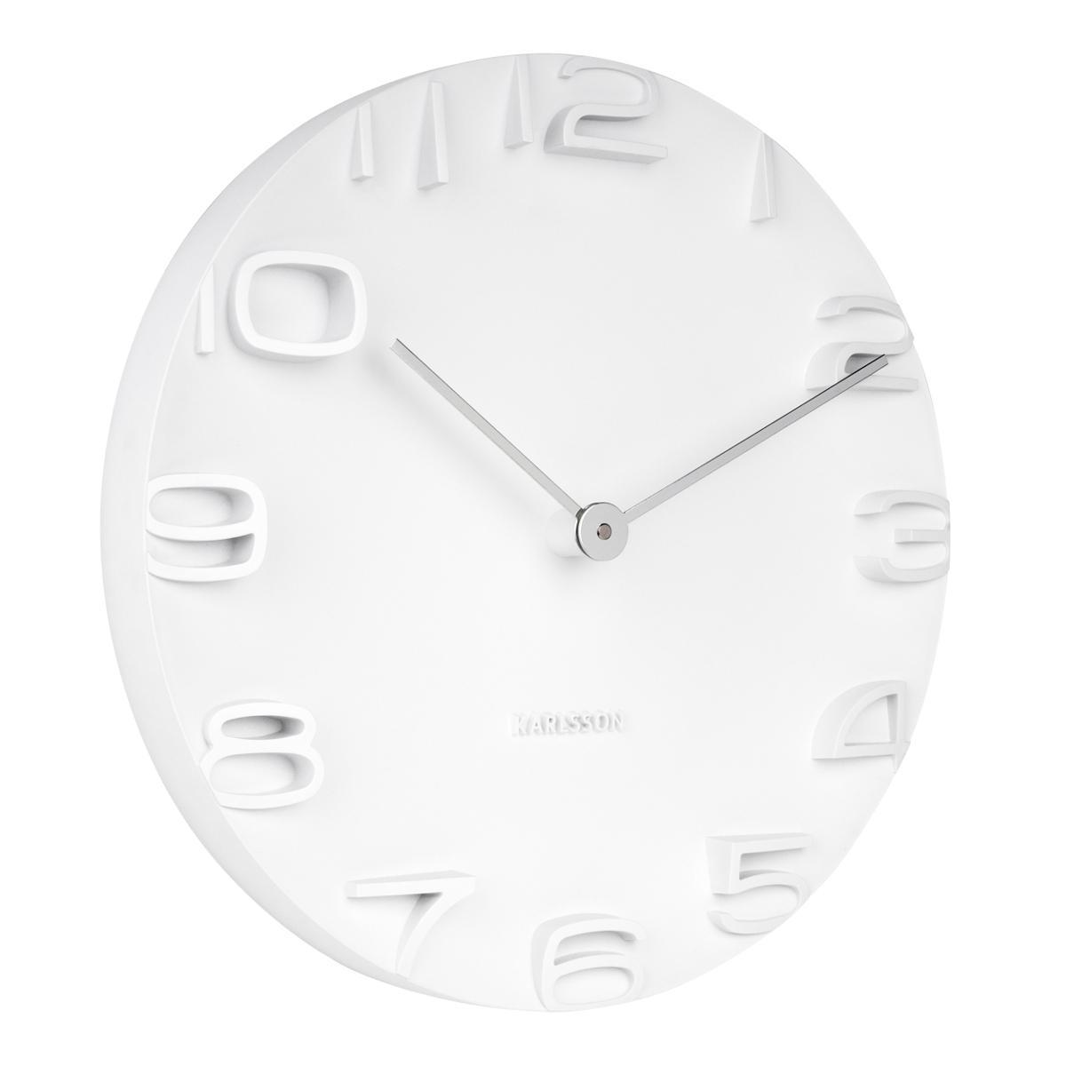Buy Top Karlsson Clocks Home Decor Lazada Wooden Clock Bamboo 1293 Red Lightblue Lightgreen Light Wall On The Edge White W Chrome Hands