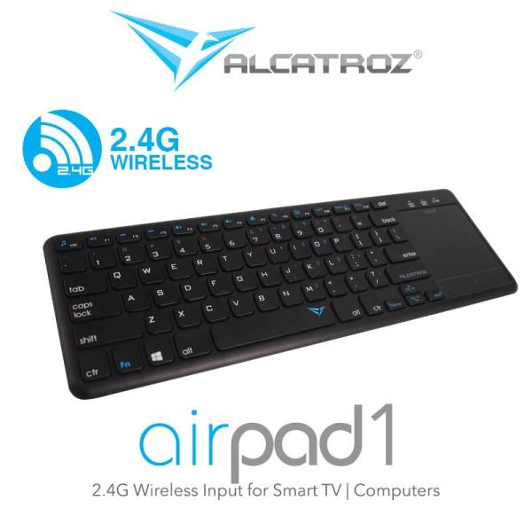 Airpad 1 Wireless 2.4G  Keyboard Input for smart TV or Computers Singapore