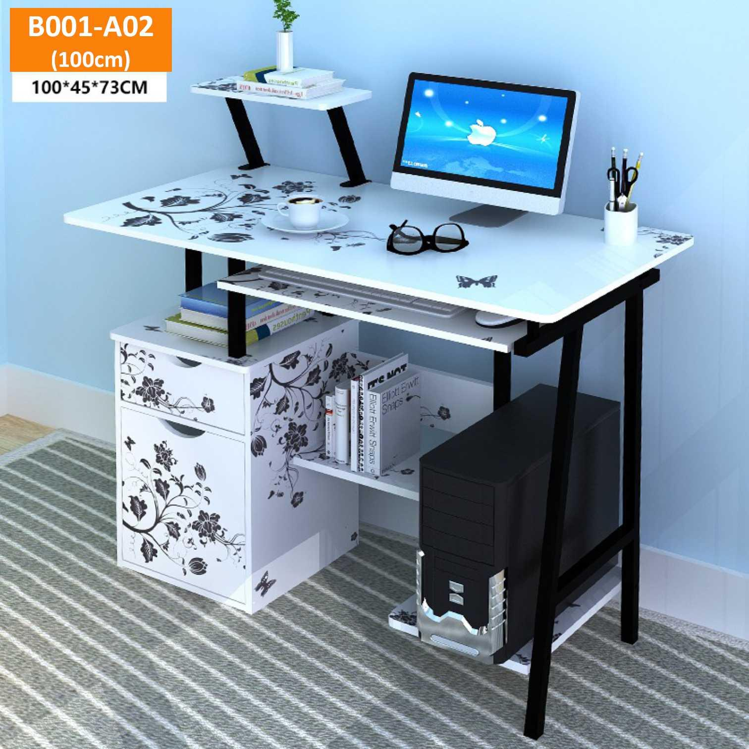 Study table/free assemble/Computer table/Shelf table