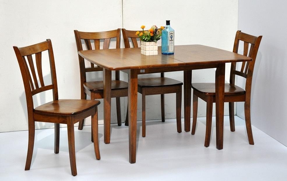 Pancy Extendable Dining Table Set with 4 chairs