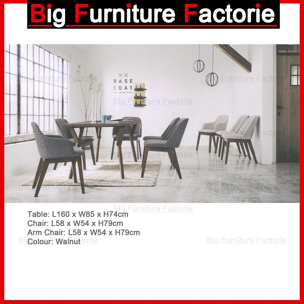 BFF-Dining Set WN2 (1+6)