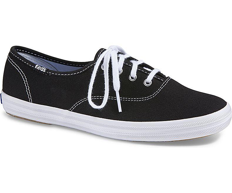 22c0e06324fc37 Keds Champion Originals Canvas Sneakers Black WF34100