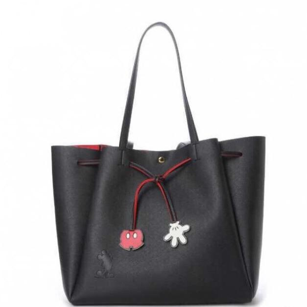 8423957ad68 COLORS by Jennifer Sky Disney Limited Collections Tote bag Mickey Mouse  (BLACK COLOR)