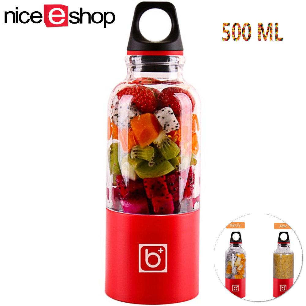 Discount Niceeshop Portable Travel Juicer Bottle Usb Electric Juicer Cup Household Fruit Juicer Mixer Cup 500Ml Intl Niceeshop