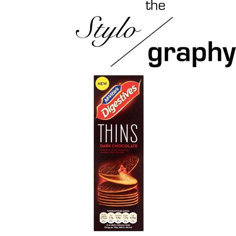 Compare Price Mcvitie S Thin Dark Chocolate Digestive On Singapore