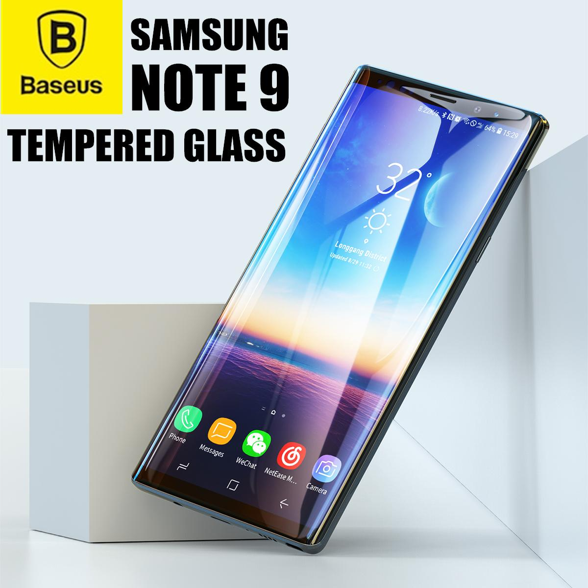 Buy Top Screen Protectors Mobiles Tempered Glass Iphone 8 Plus Clear 3d Full Cover Premium Pro Baseus Surface Protector For Samsung Note 9 03mm Thin 9h