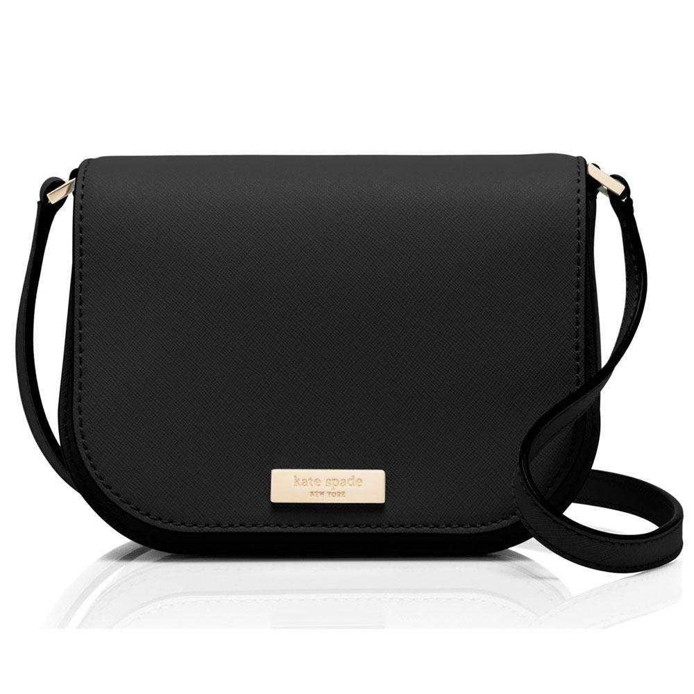 Kate Spade Laurel Way Cn Crossbody Bag Handbag Black Wkru4091 Gift Receipt