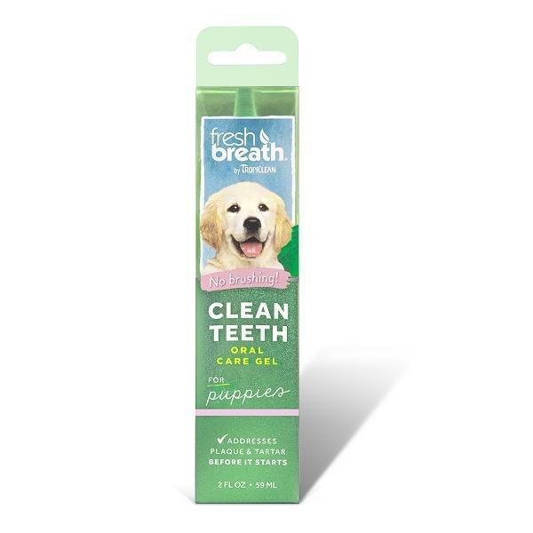 Tropiclean Clean Teeth Oral Care Gel For Puppies By Singpet.