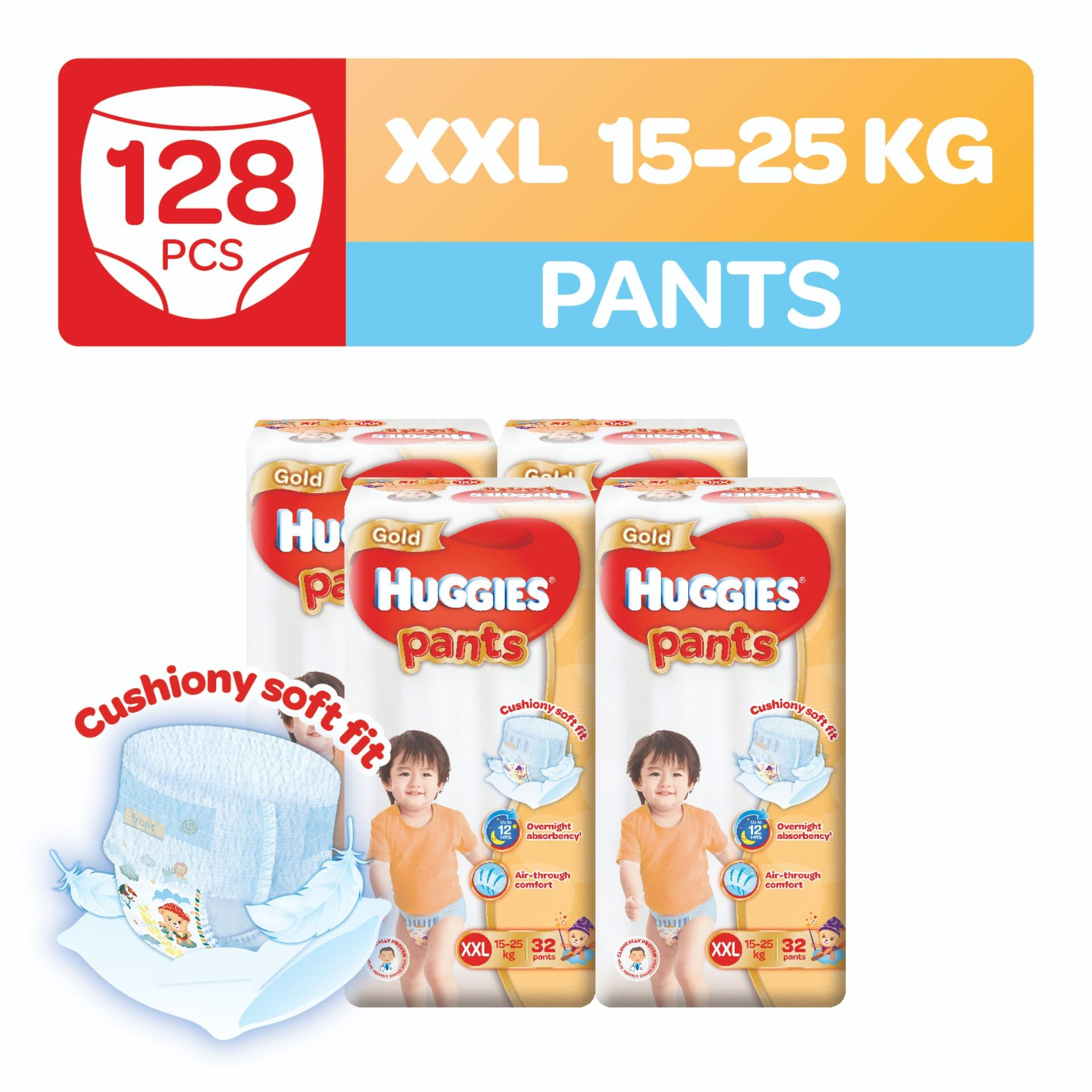 Store Huggies Gold Pullup Pants Xxl 32Pcs X 4 Packs Huggies On Singapore