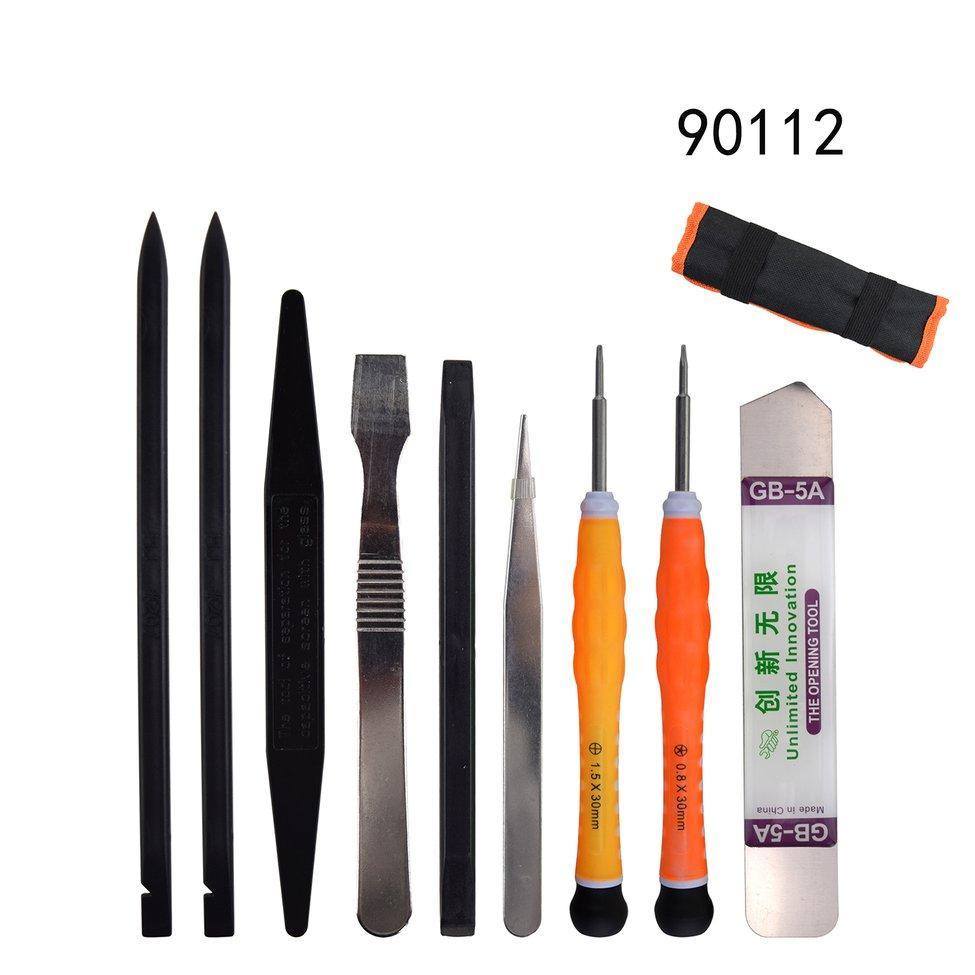 OH 9-in-1 Repair Tools Kits Spudger Pry Screen Opening Tool Screwdriver Tweezers Multicolor