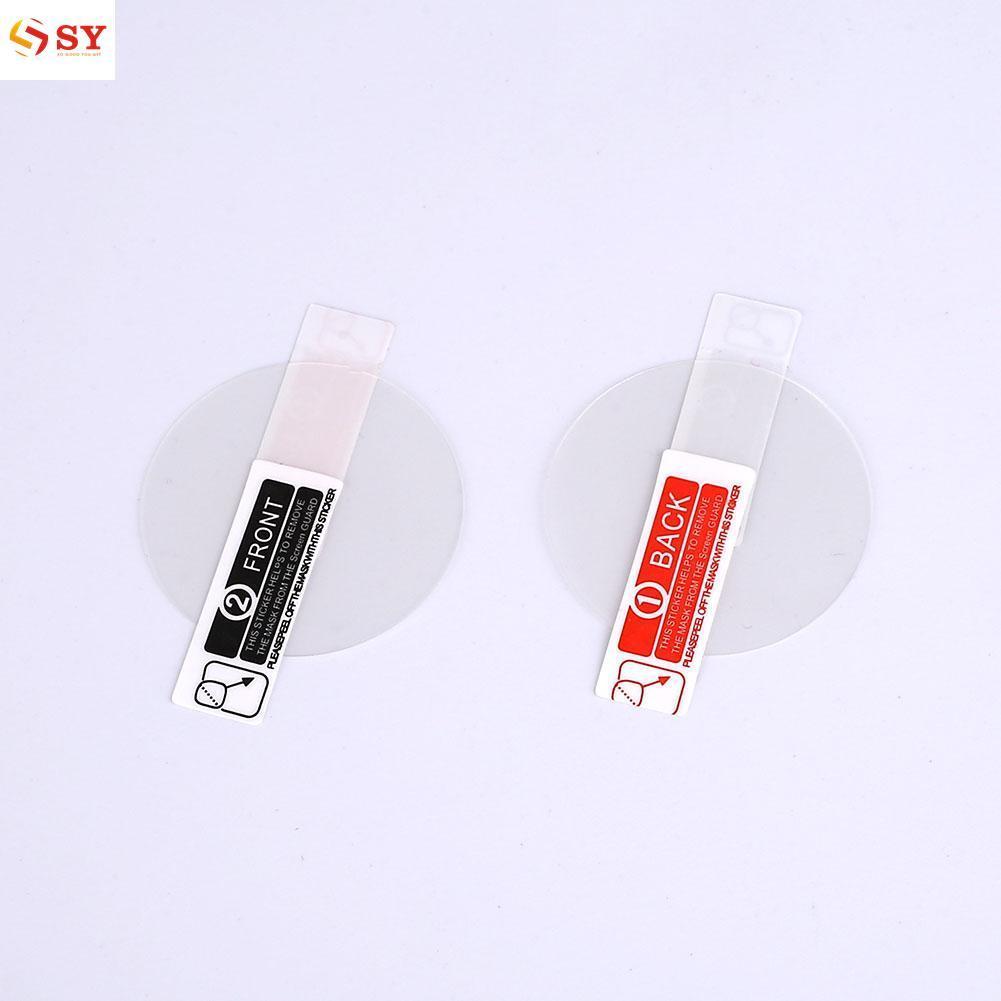 So Young Sports Smart Watch Screen HD Mirror Film Sticker 38mm 2pcs For Fenix 5X -