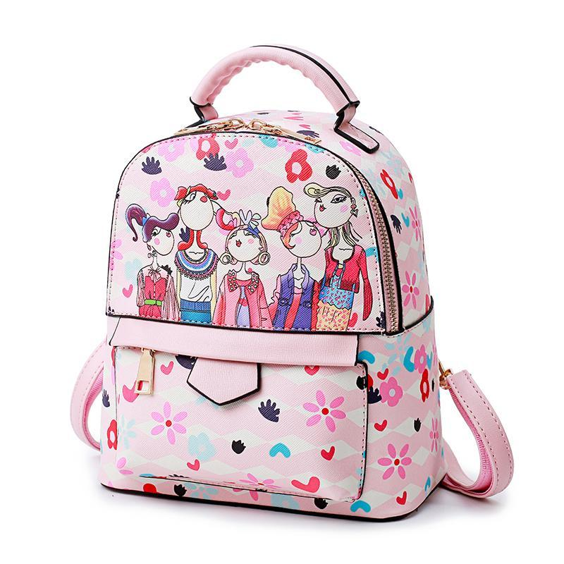 Korean Style Childrens Bag Girls Backpack Big Boy Fashion Princess Cute Tour Package out Little Girl Backpack