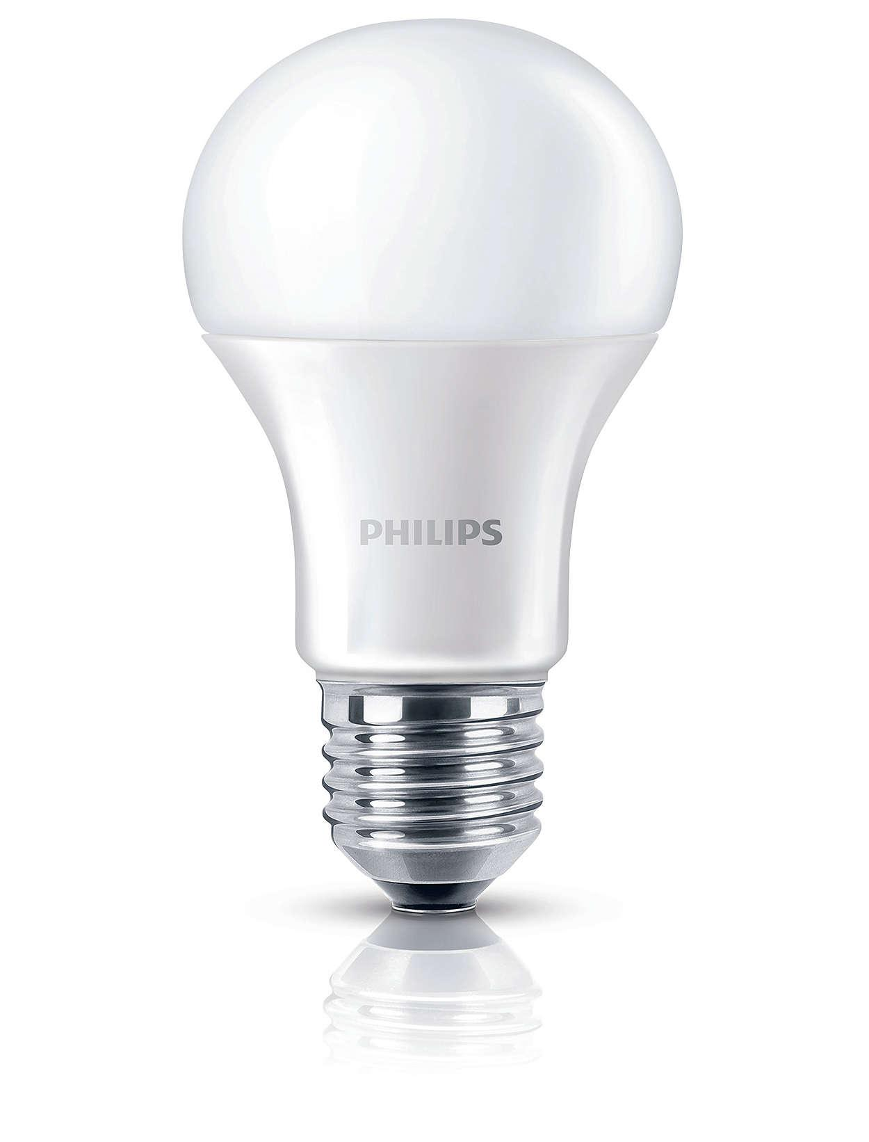 [Bundle of 4] PHILIPS SceneSwitch LED Bulb 8W E27 220-240V Cool Daylight (6500k) & Warm White (2700k)