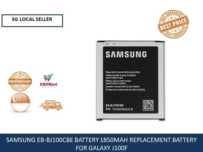 SAMSUNG EB-BJ100CBE BATTERY 1850MAH REPLACEMENT BATTERY FOR GALAXY J100F