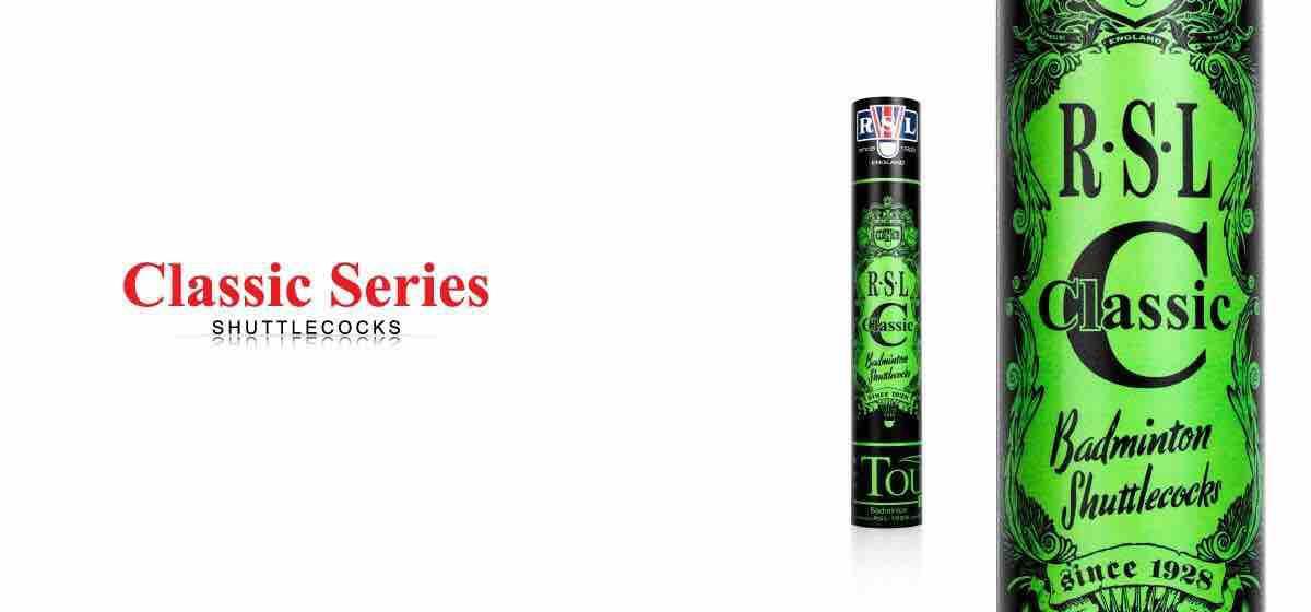 Rsl Badminton Shuttlecocks Classic 10 Tubes By Rsl Badminton Color Sun
