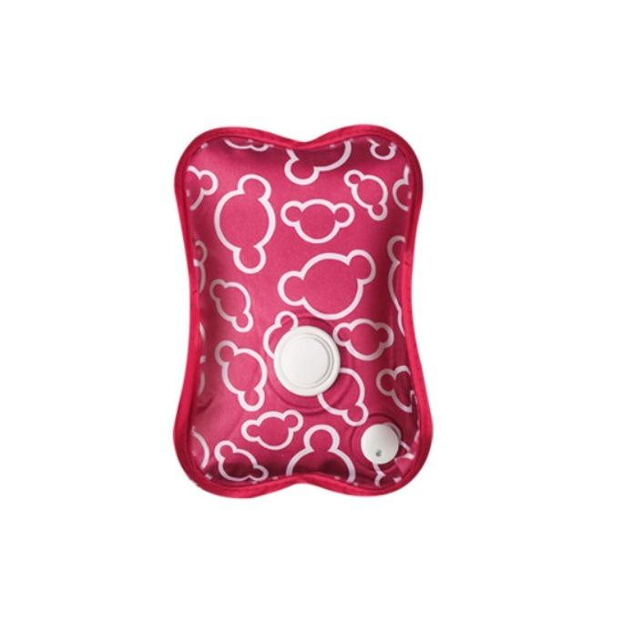 Recent T Electric Heat Pad Heating Pad ★ Hot Water Massage Pack Heatpad Hot Water Bag Abdomen Warmer Bag Mickey Red Liner With Pink Cover By Econfair