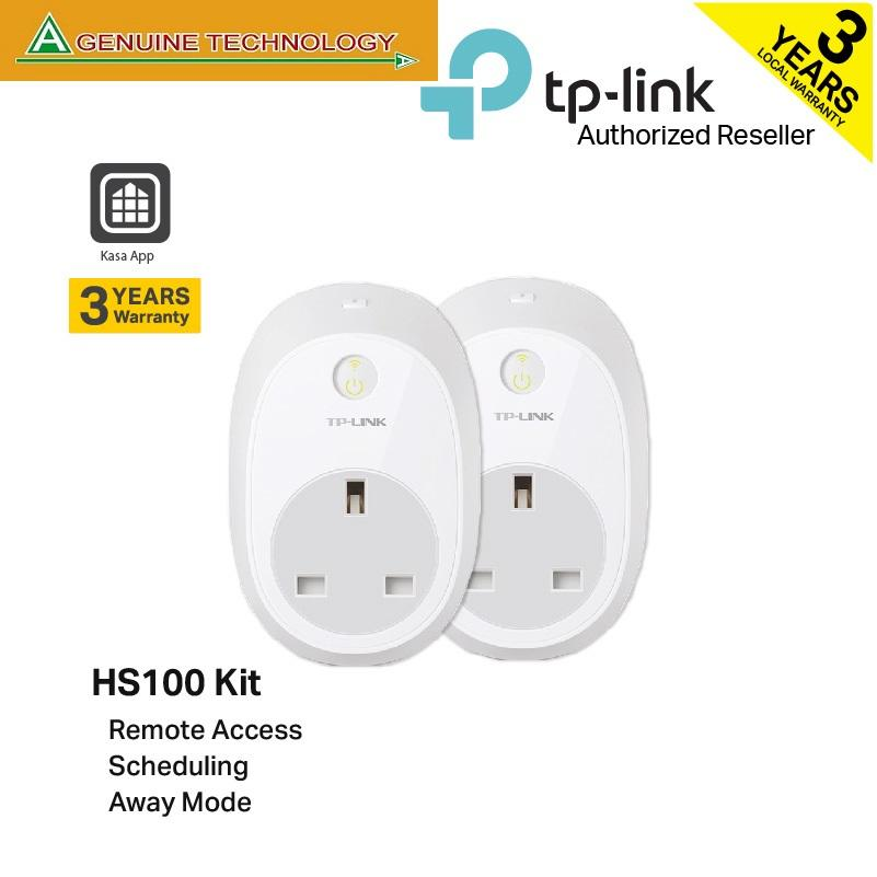 Tp-Link Hs100 Kit Wi-Fi Smart Plug By A Genuine Technology.