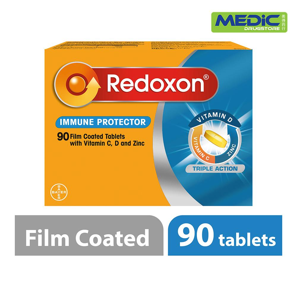 Multivitamin Singapore For Women Men I Lazada Renovit Redoxon Triple Action With Vitamin C D And Zinc 90 Film Coated Tablets Spend 35 On