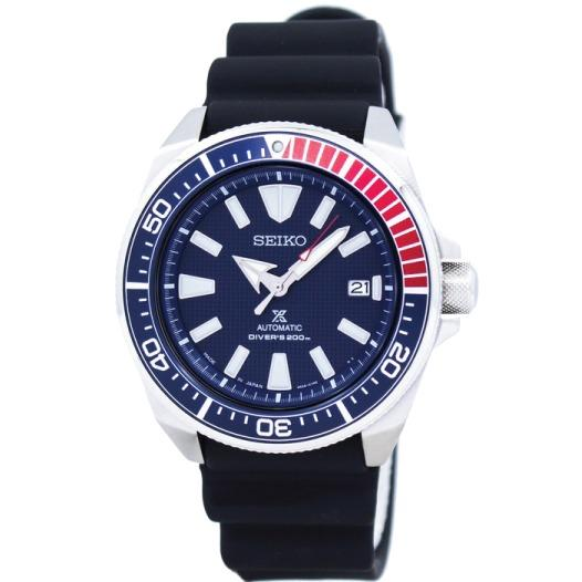 Low Cost Seiko Prospex Japan Made Sea Series Air Diver S Automatic Black Silicone Strap Watch Srpb53J1