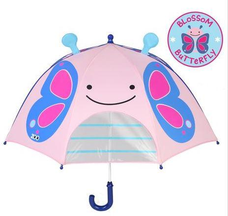 Butterfly Skip Hop Zoobrella Little Kid Umbrella By Presents Time.