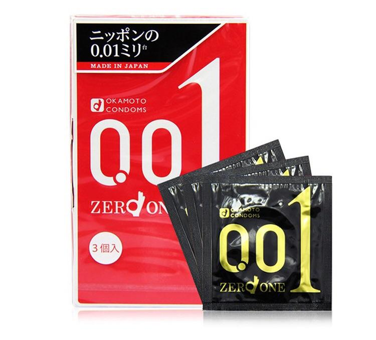Okamoto 001 Pack Of 3 By Okmt.