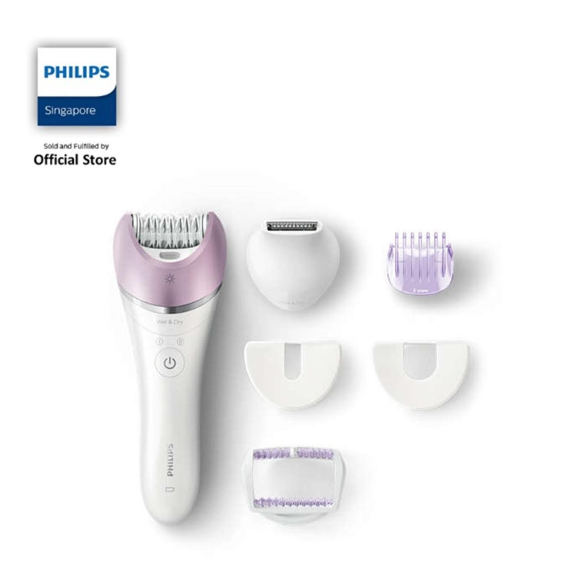 Philips Satinelle Advanced: Wet & Dry Epilator - Bre632/00 By Philips Official Store Sg.