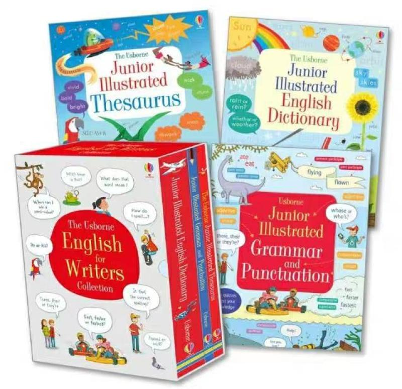 The Usborne English Dictionary Boxset: English for writers collection