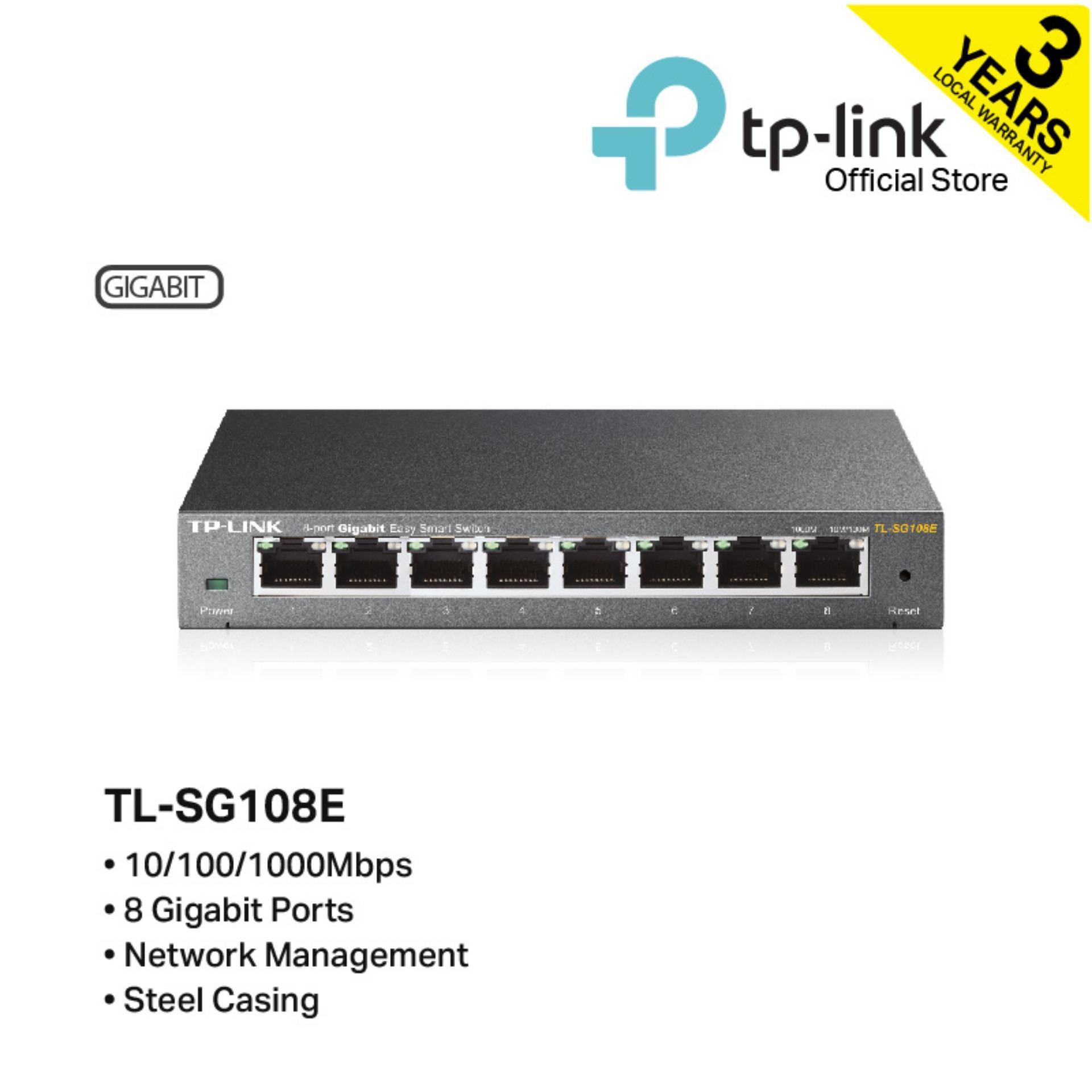Latest Tp Link Switches Products Enjoy Huge Discounts Lazada Sg Switch Hub 8 Port Ethernet D Tl Sg108e Gigabit Unmanaged Pro