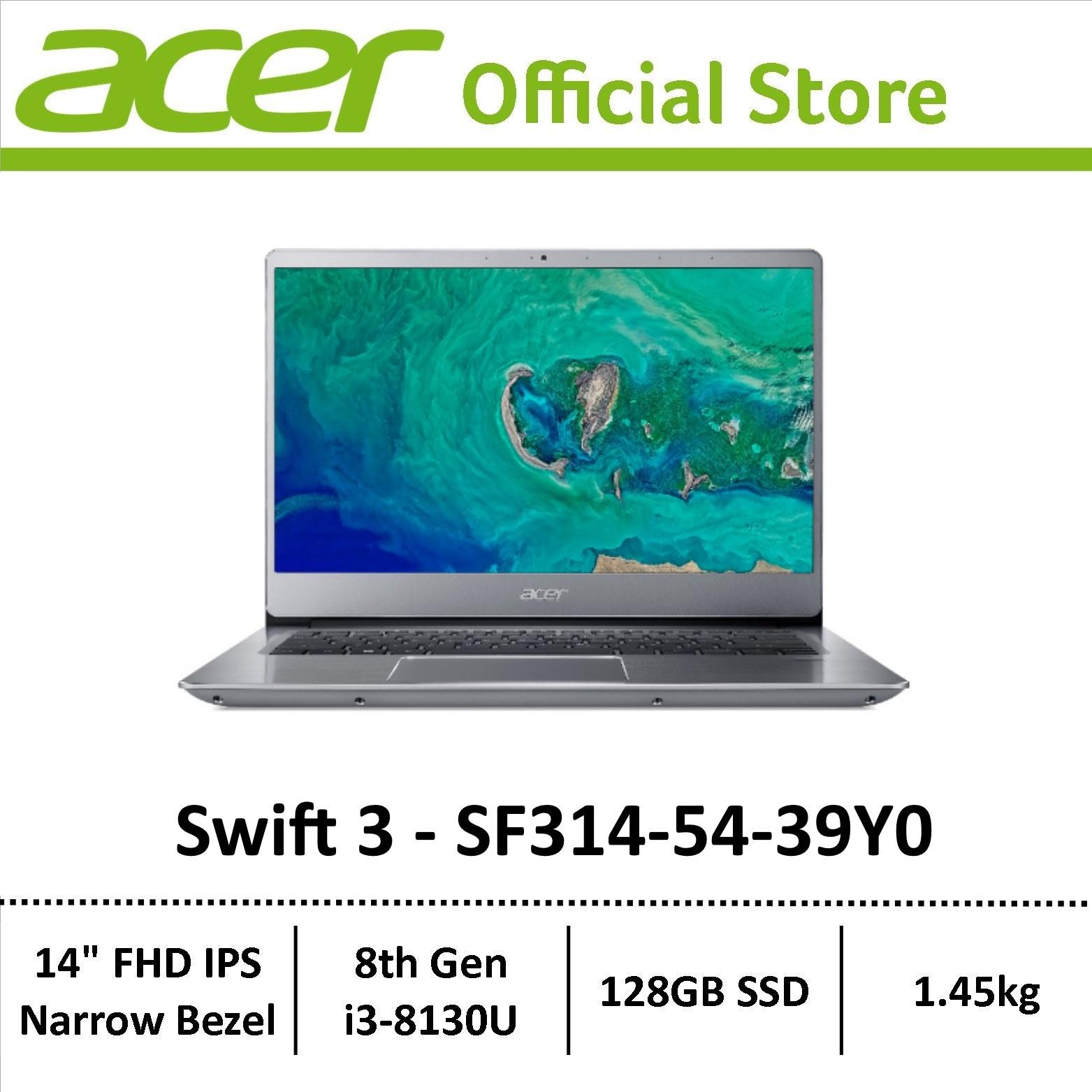 [Online Exclusive] Acer Swift 3 SF314-54 Thin & Light Narrow Border Laptop - Latest Model