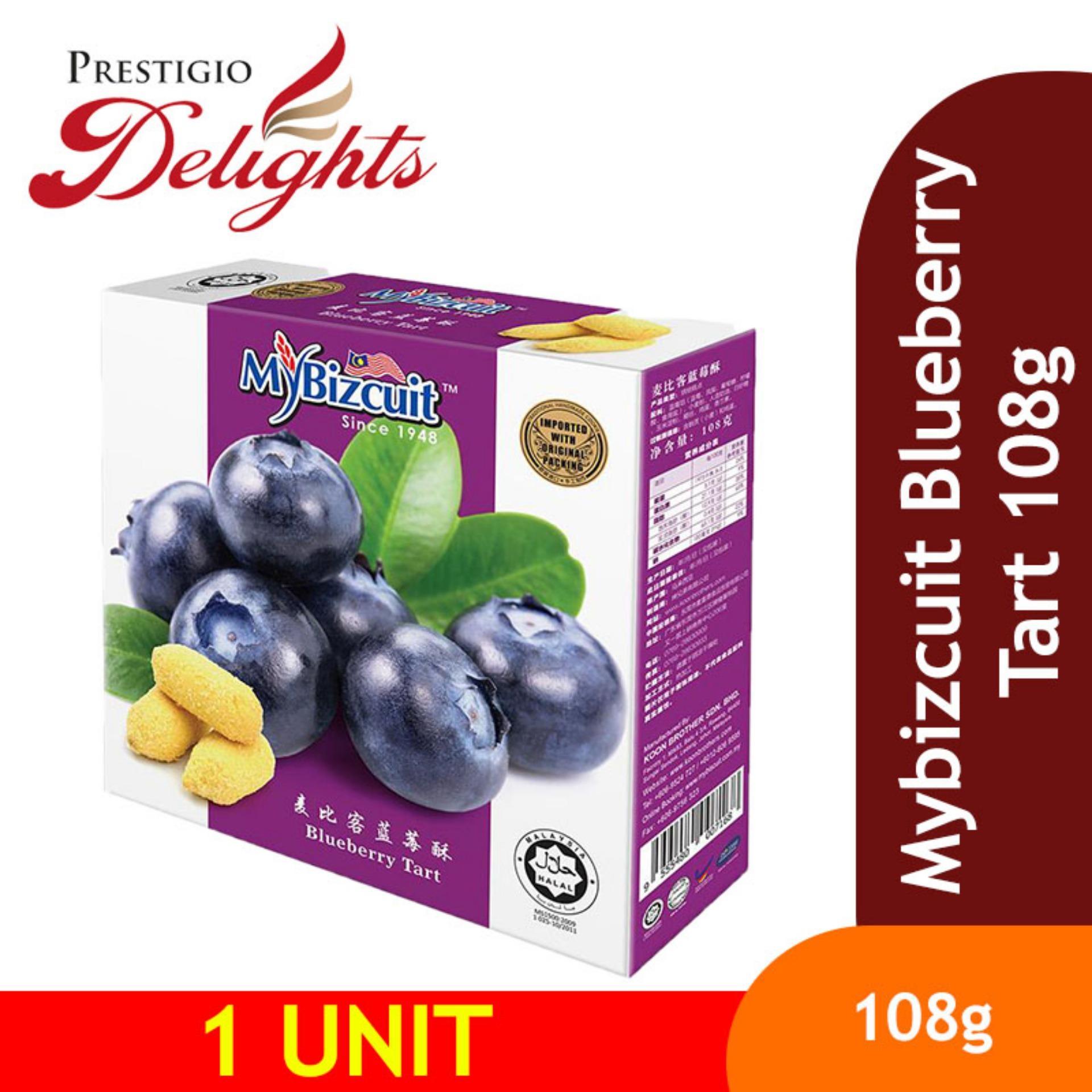 Mybizcuit Blueberry Tart 108g By Prestigio Delights.