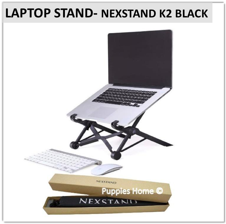 Nexstand K2 Laptop Stand Monitor Vertical Organizer Adjustable Slot Holder Rise PC and MacBook Ergonomic Design