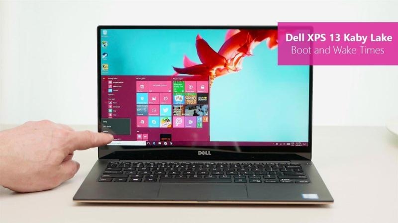 DELL New XPS 9360 7th Gen i7 7500U 4MB Cache up to 3.5 GHz 8GB RAM 256gb SSD QHD display Intel HD Graphics 13 inch display Windows10H