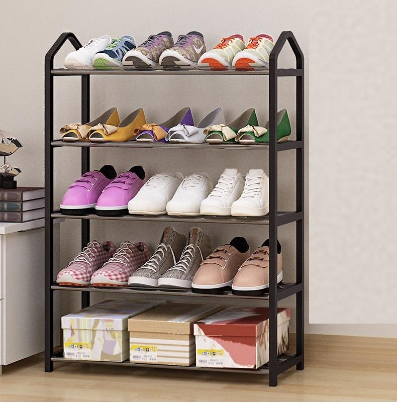 ONS Portable Shoe Rack Stand Shelf Home Storage Organizer Closet Cabinet - 5 tier