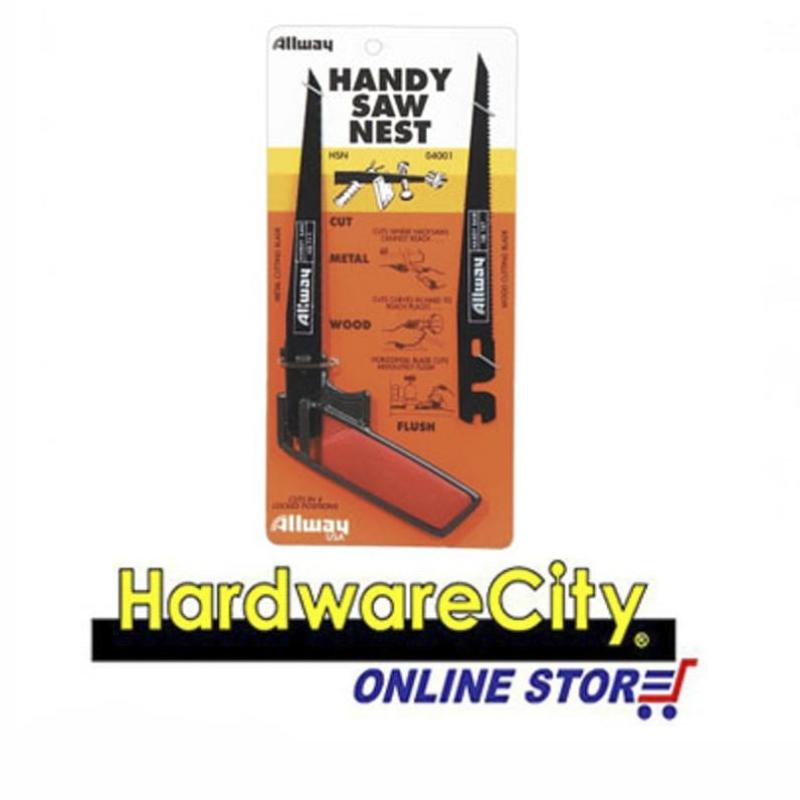 Allway HSN, Hand Saw Nest With Spare Blade 7-1/2in (Plastic Handle) [HSN]