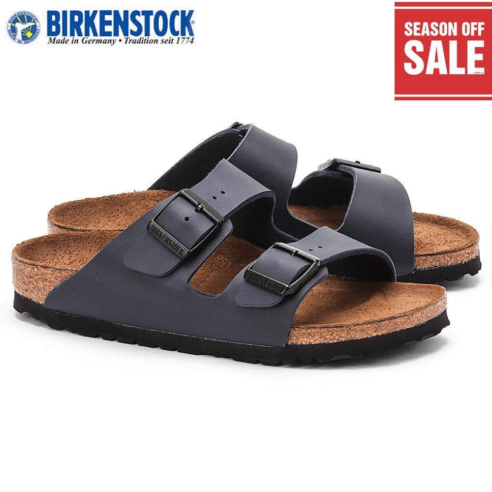 72e55e59feca Birkenstock Unisex Arizona Birko-Flor 051751 3 Navy Made in Germany 100%  Authentic