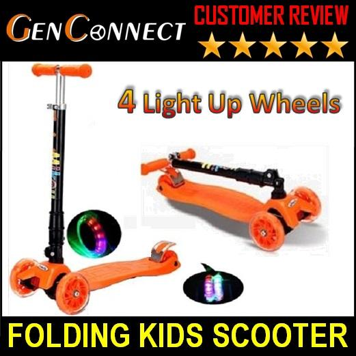 4 Wheels Kids Scooter By Genconnect.