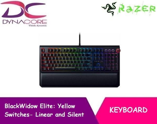 DYNACORE - Razer Blackwidow Elite Mechanical Gaming Keyboard - Orange | Yellow | Green Singapore
