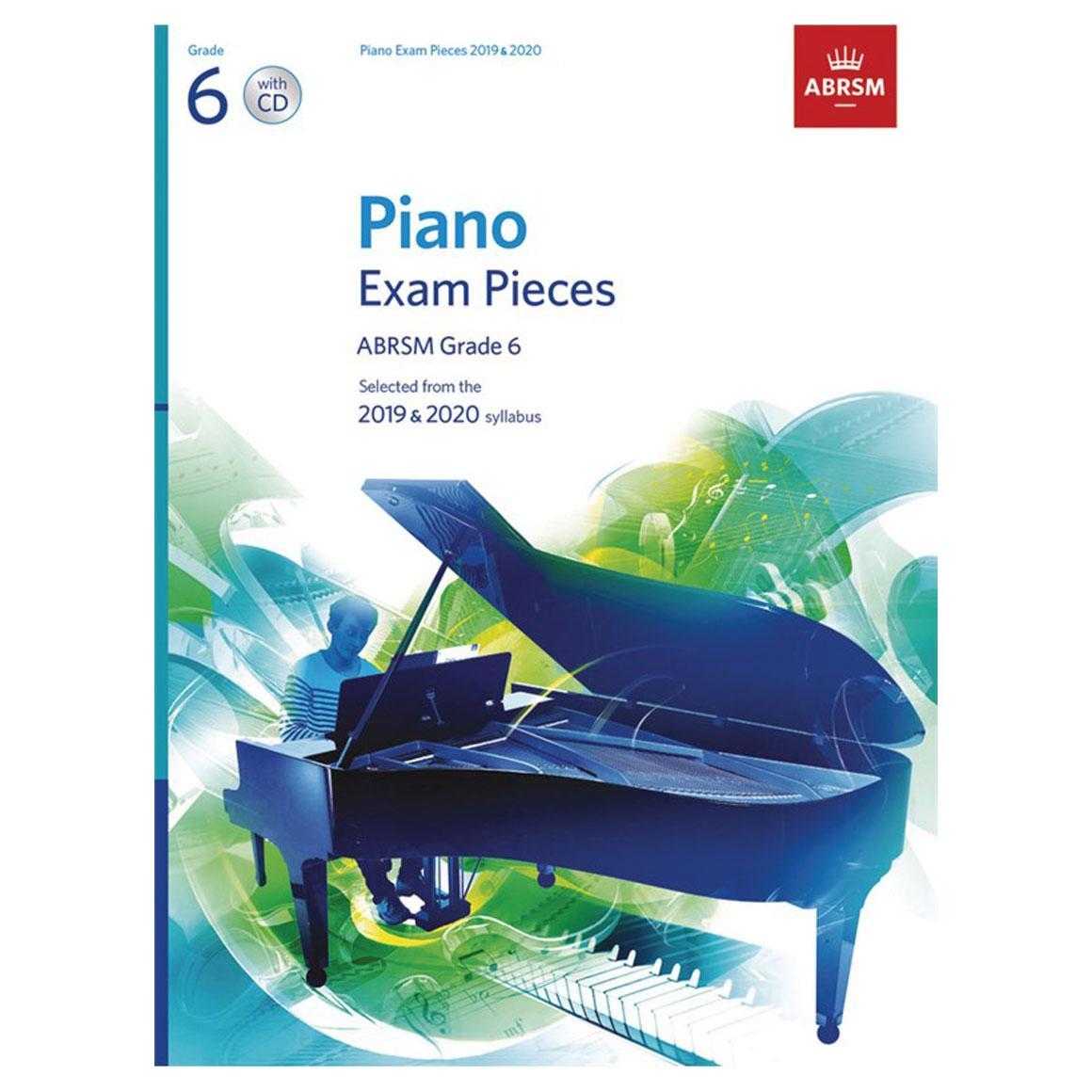 ABRSM Piano Exam Pieces 2019 2020 - Grade 6 (Book And CD)