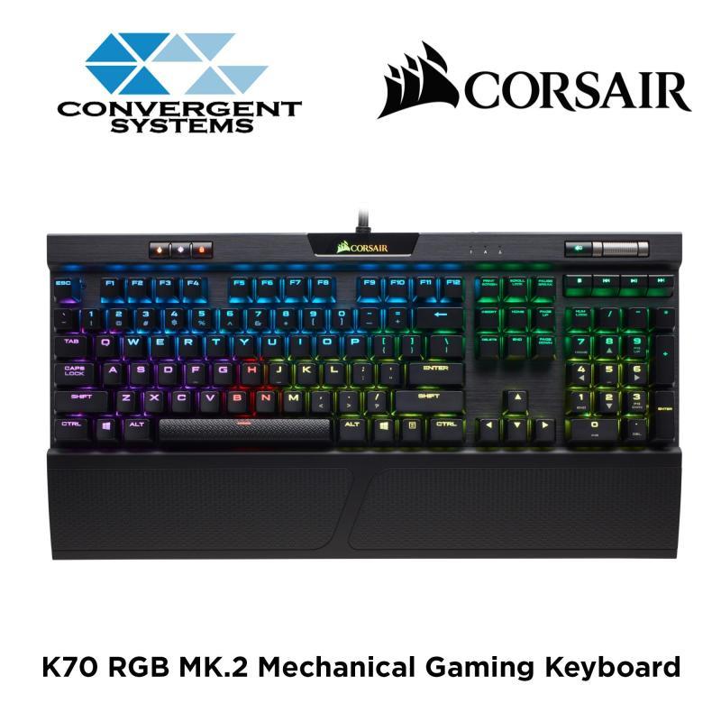 CORSAIR K70 RGB MK.2 RGB Mechanical Gaming Keyboard (Switch: Cherry MX Brown) Singapore