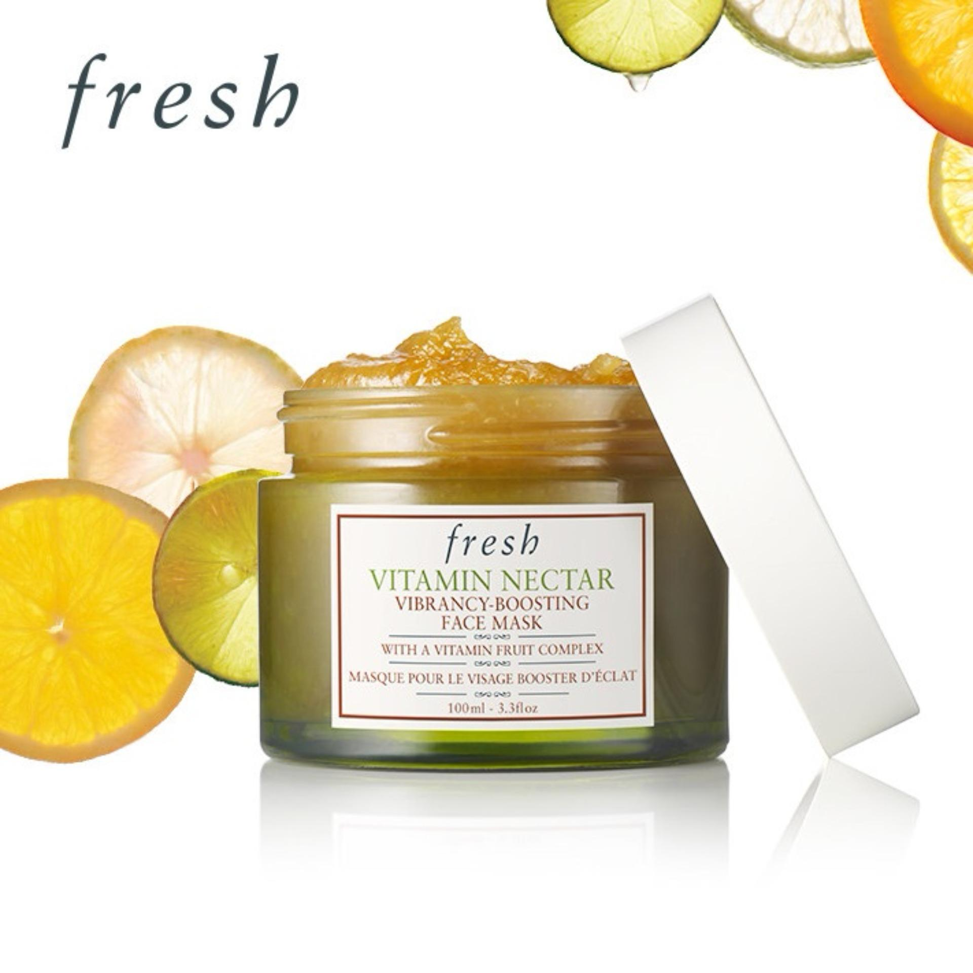Coupon Fresh Vitamin Nectar Vibrancy Boosting Face Mask 100Ml 3 3Oz