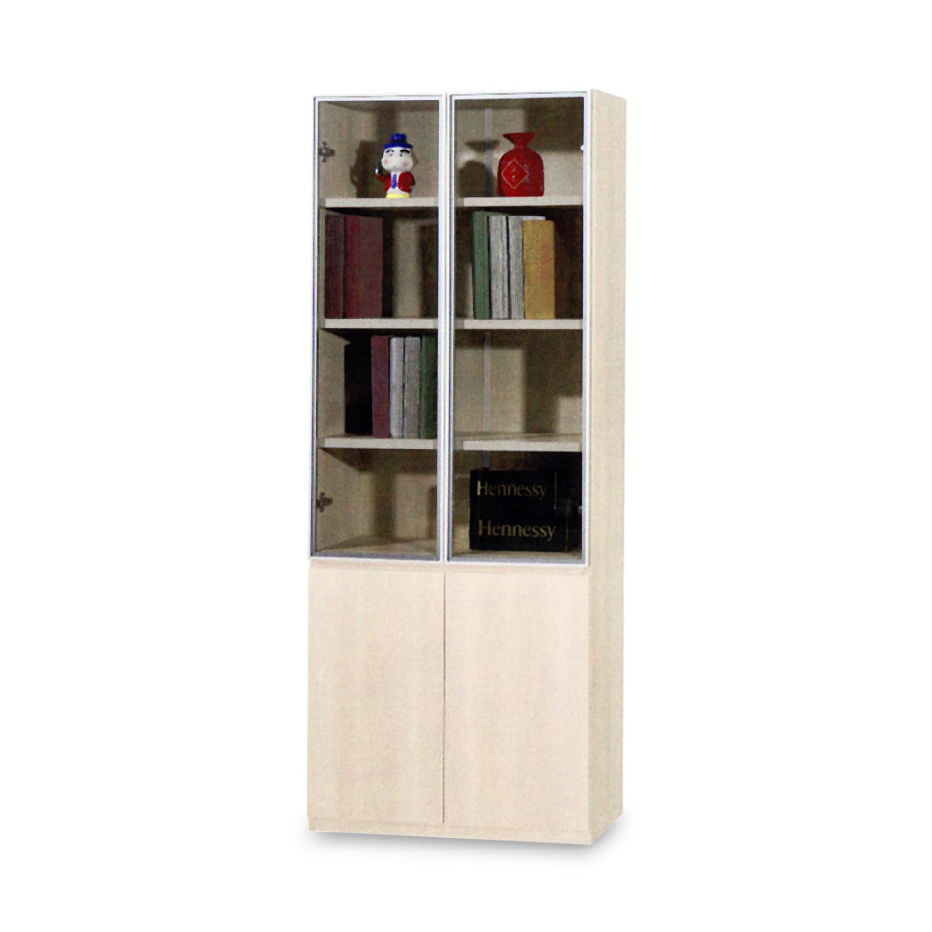 Sofia 2 Doors Book Shelf (FREE DELIVERY)(FREE ASSEMBLY)