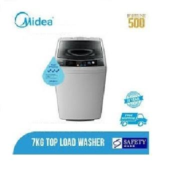 Midea 7kg Top Loading Washing Machine 7kg Mt720 * Ready Stock, Delivery Within 3 Days By S11.