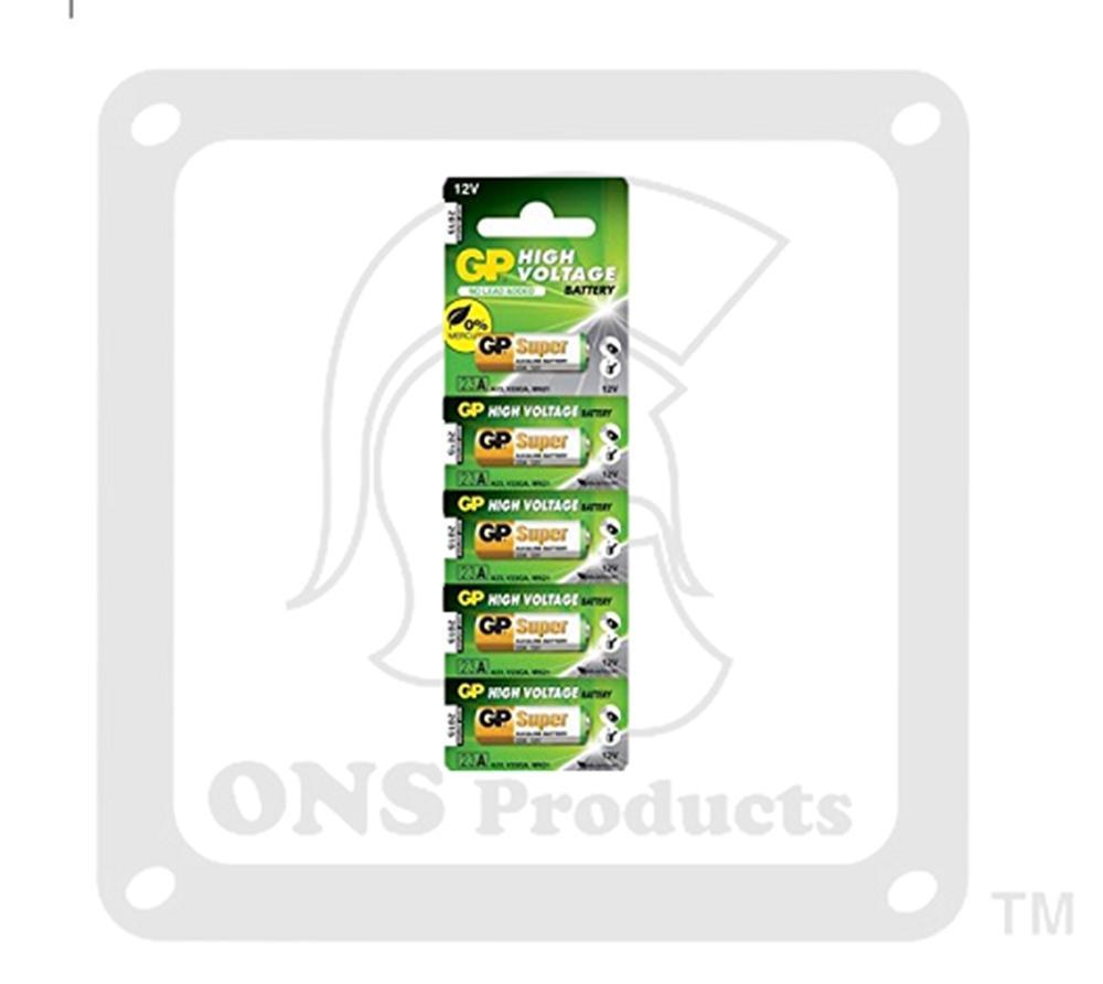 Gp Car Alarm Battery - 23a 12v (valuepack 5pcs) By Offer & Save.