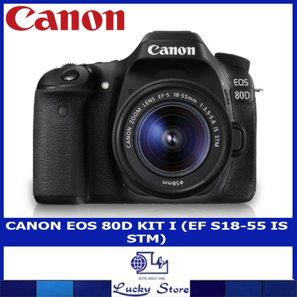 Cheap Canon Eos 80D Kit I Ef S18 55 Is Stm Online