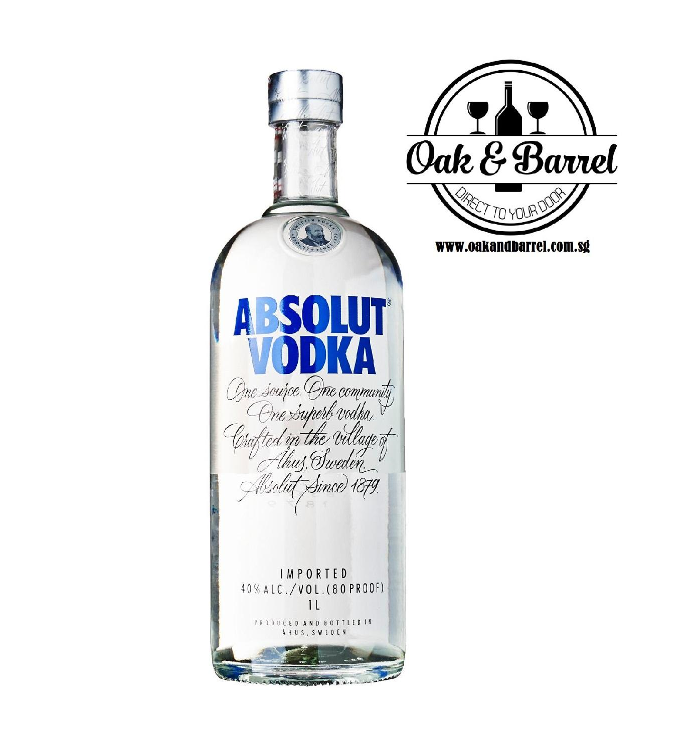 Price Comparisons For Absolut Vodka Blue 700Ml