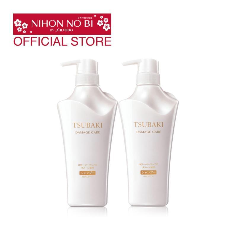 Buy Tsubaki Damage Care Shampoo + Conditioner 500ml Singapore