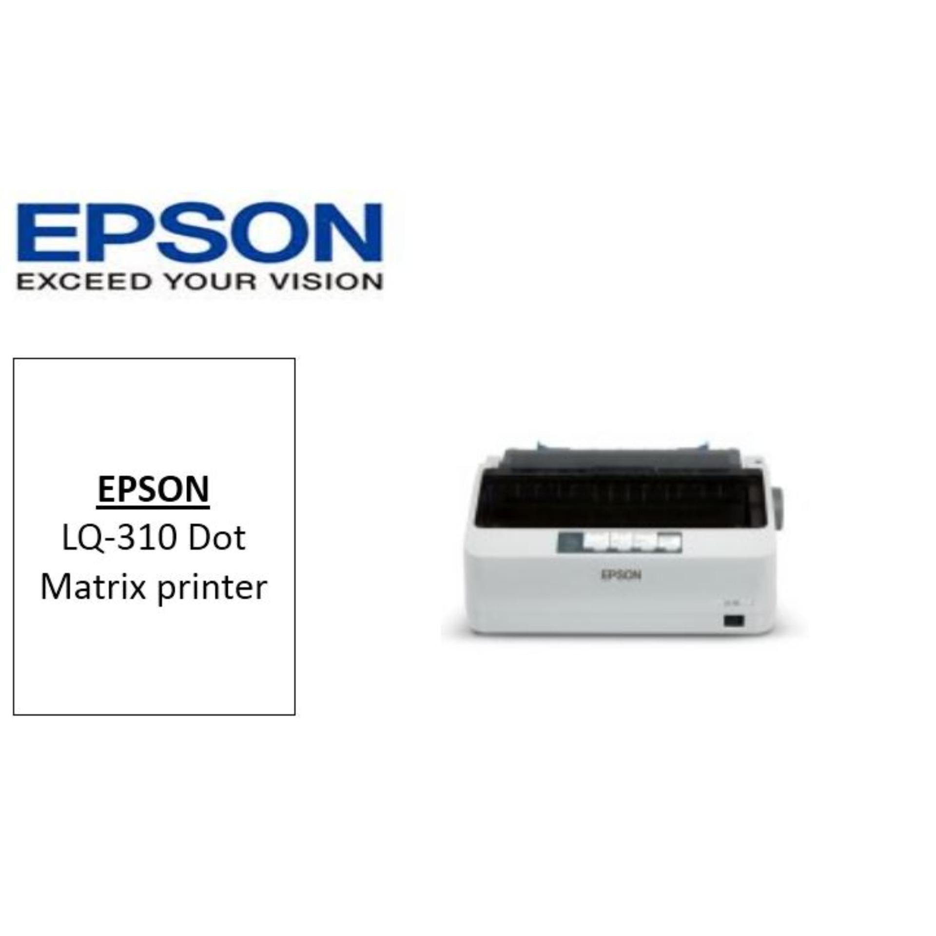 Dot Matrix Printer Singapore Lazada Kabel Head Epson Lx310 Original New Lq 310 Lq310